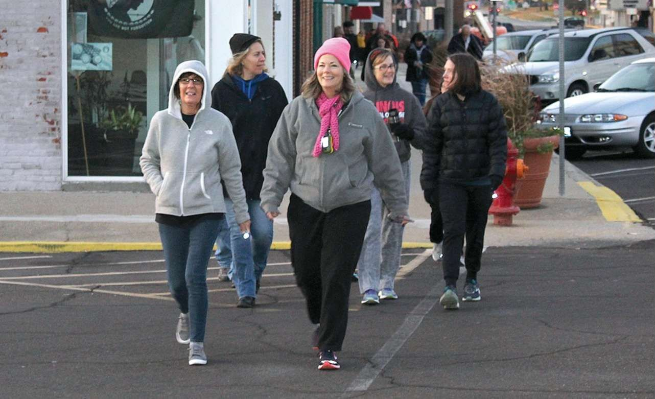 Participants gathered together on a chilly Saturday morning, Nov. 2,for Out of the Darkness and Into His Light walk to raise awareness for suicide prevention and mental health.
